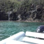 La cascade Jurassic de Blue Lagoon